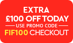 Extra 100 OFF