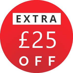 Extra 25 OFF