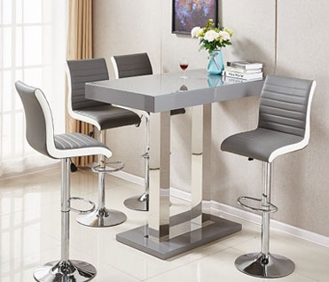 Buy modern gas lift bar stools in different styles, shapes, colours and sizes for your breakfast bar