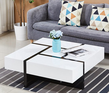 Check out our great range of modern and beautiful coffee tables with storage