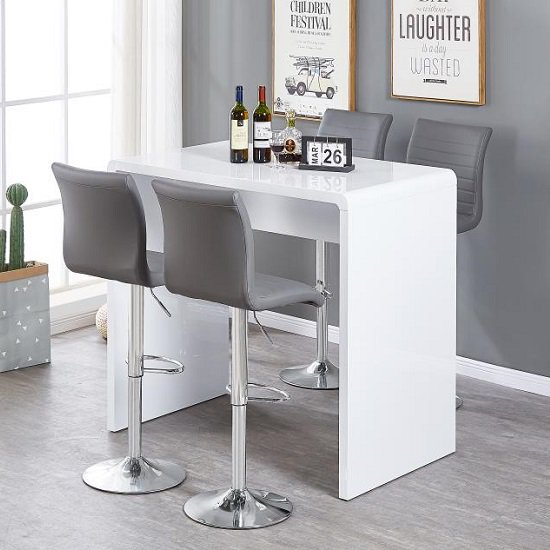 Check out our bar table sets to add style and sophistication to your living space