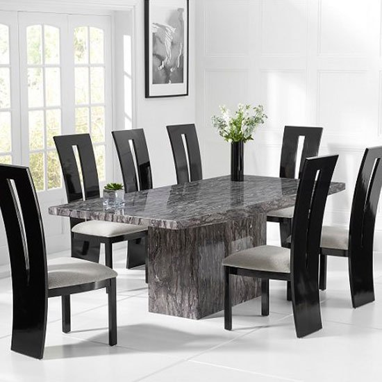 Make your home wonderful with our luxurious and modern marble dining table and chairs