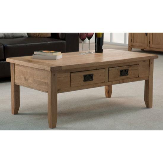 Corrick Coffee Table In American White Oak