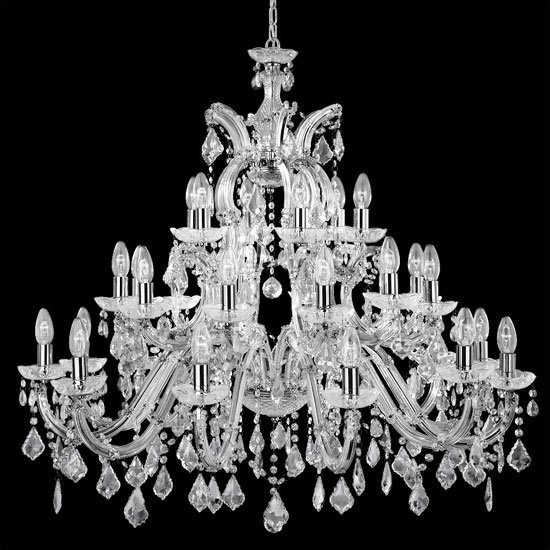 Marie Therese 30 Lamp Crystal Chandelier Ceiling Light