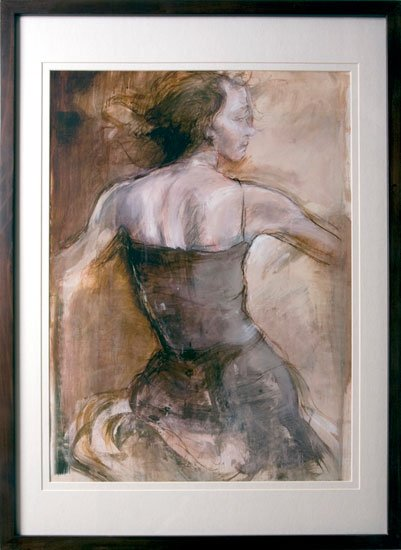 000215 Figurative Dancer elegance art women - Wall Arts Prints, Get Some Real Embellishing Of Your Home