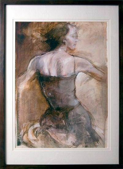 000215 Figurative Dancer elegance art women - Wall Arts Prints, Get Some Real Embellishing Of Your Home