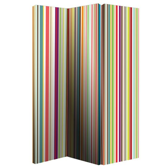 Bright Stripe Room Divider