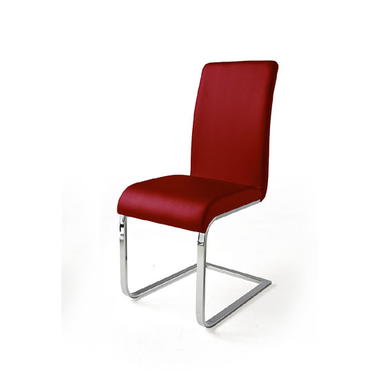 03025CMR MCA - Red Leather Dining Chairs: 5 Reasons To Have Them In Your Room