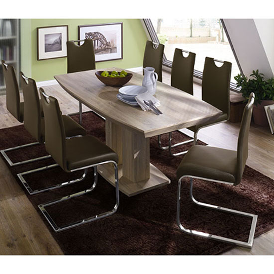 050140S+03025C  8 Lotte Cha - Choosing Large Dining Table To Seat 16: A Couple Of Useful Tips