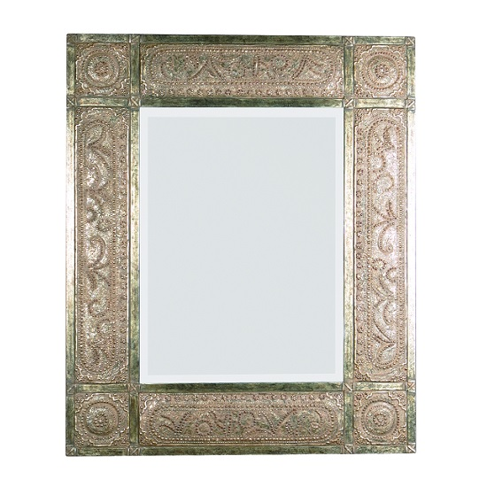 Marvel Serenity Wall Mirror In Antique Brown