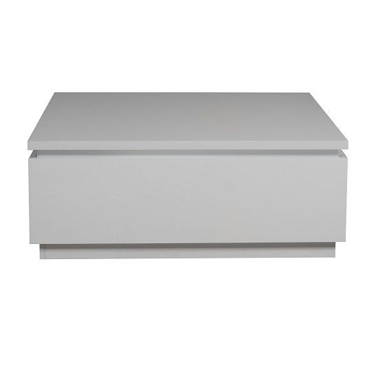 Elisa Coffee Table Square In High Gloss White With Storage_4