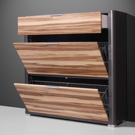 Read more about Momento baltimore walnut anthracite shoe cabinet