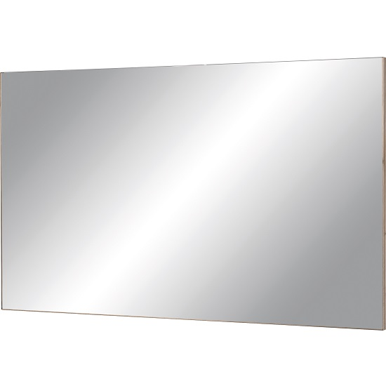Elina Wall Mirror Rectangular In Sanremo Oak Frame