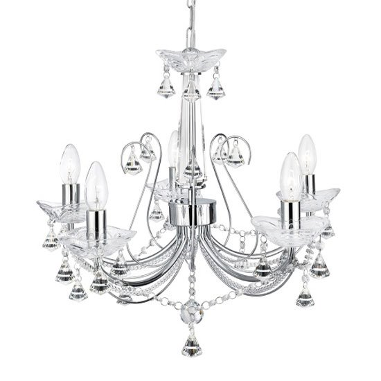 Lafayette Crystal Ceiling Light