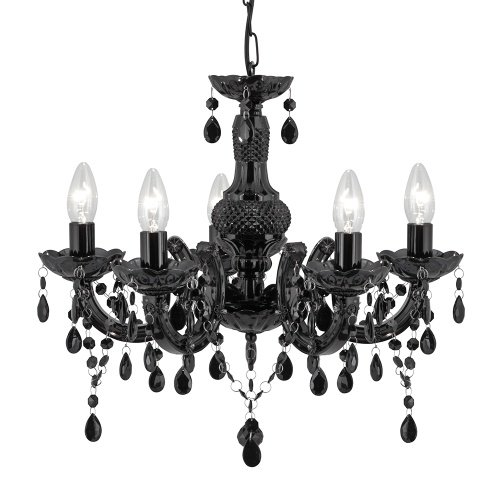 Marie Therese Black Ceiling Light