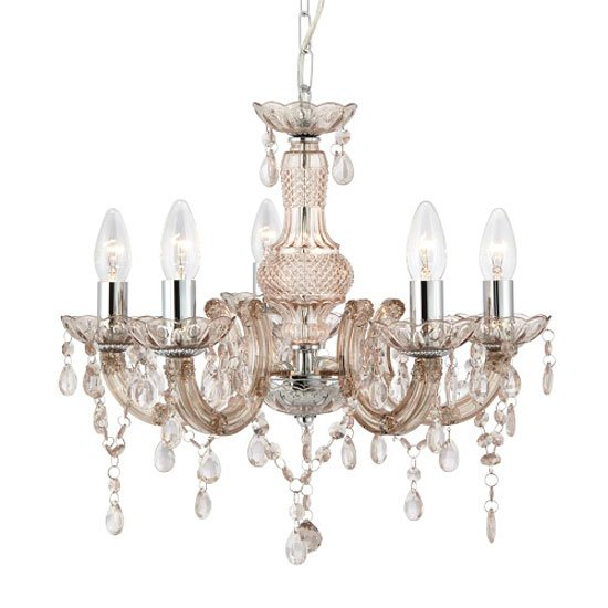 Marie Therese Mink Ceiling Light