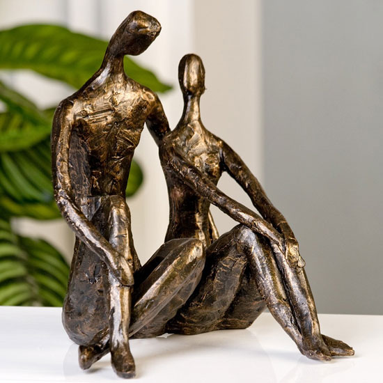 Date Sculpture In Bronze Finish