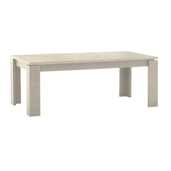 Sonora Extendable Dining Table Rectangular In Oak