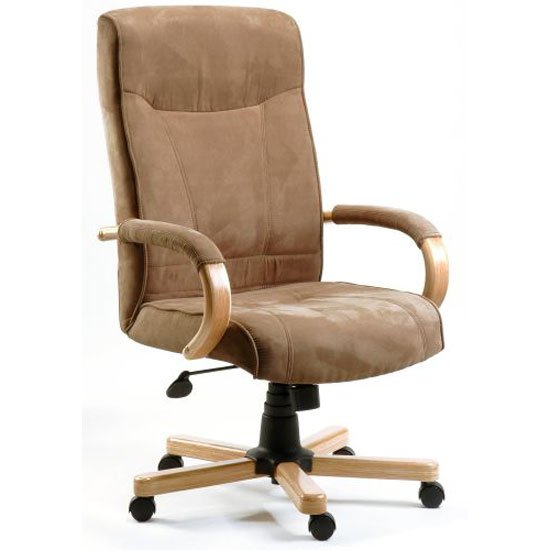 Guildford Suede effect executive Armchair