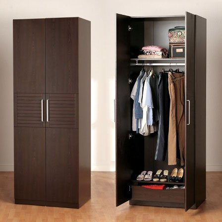 2 door wardrobes nwOrl2DrWD - 8 Simple Wardrobes For Students On A Budget