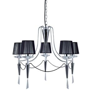 Duchess Stylish Chrome and Black Chrome Light