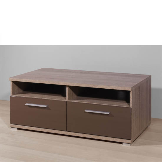 Boston Gloss Brown Plasma TV Stand