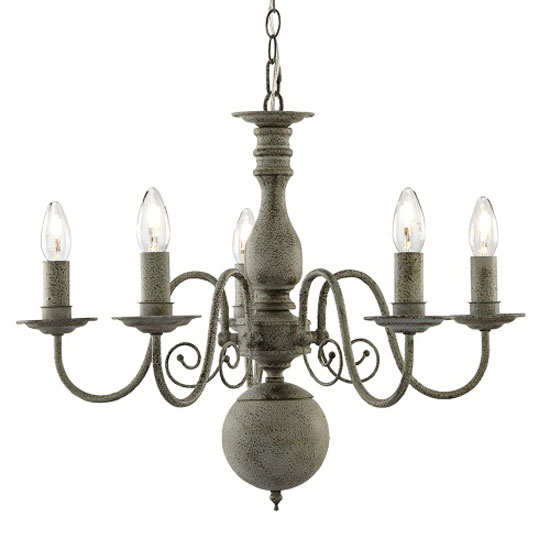 Read more about Multi arm grey thorne ceiling light with textured grey steel