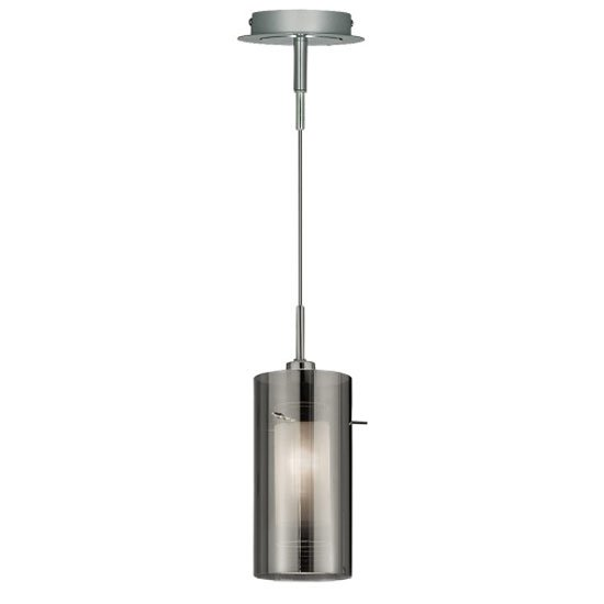 Read more about Duo2 single light ceiling pendant finished in polished chrome