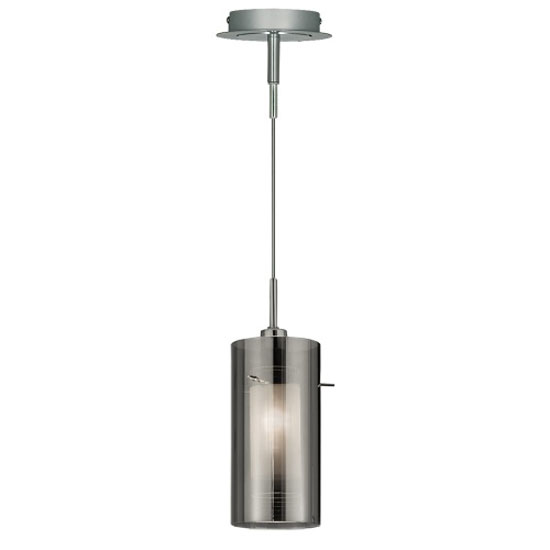 Duo2 Single Light Ceiling Pendant Finished In Polished Chrome