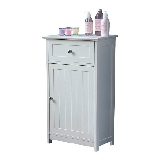 Floor standing cabinet storage cabinets 2400944 523 for Floor standing bathroom furniture