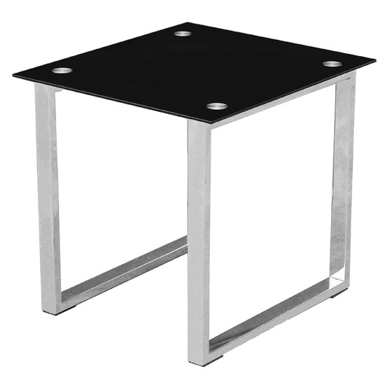 Black End Side Table 2401014