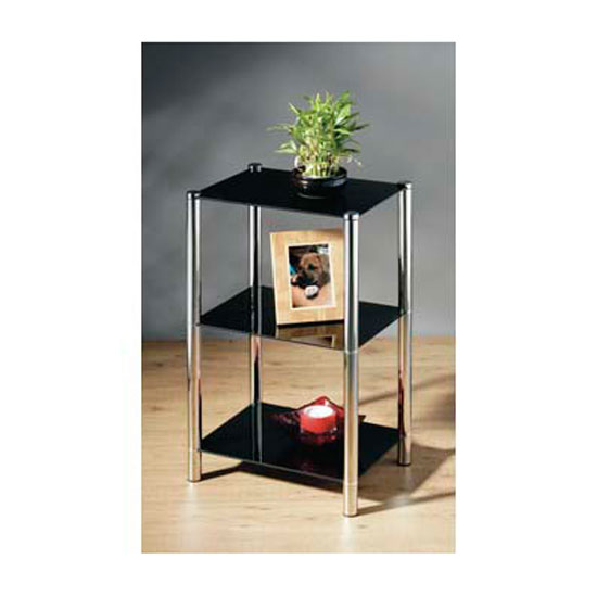 3 Tier Occasional Glass Table