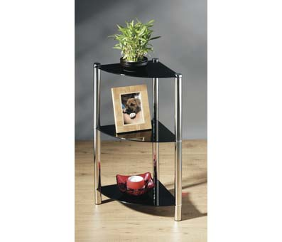 3T Corner glass display stand 2401189