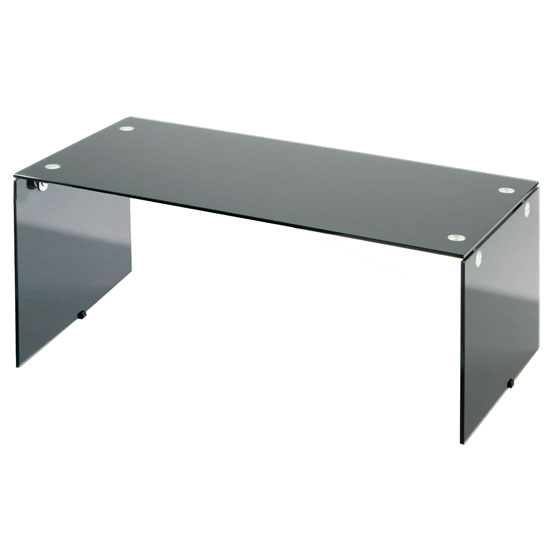 Rectangle Black Glass Coffee Table 2401784 3225 Furniture