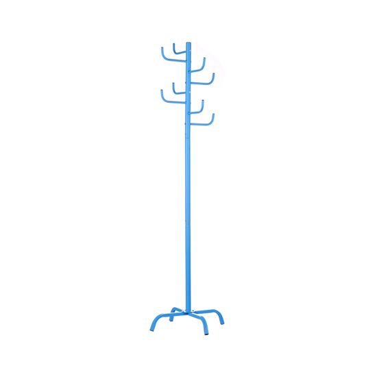 Cactus Contemporary Coat Stand In Blue