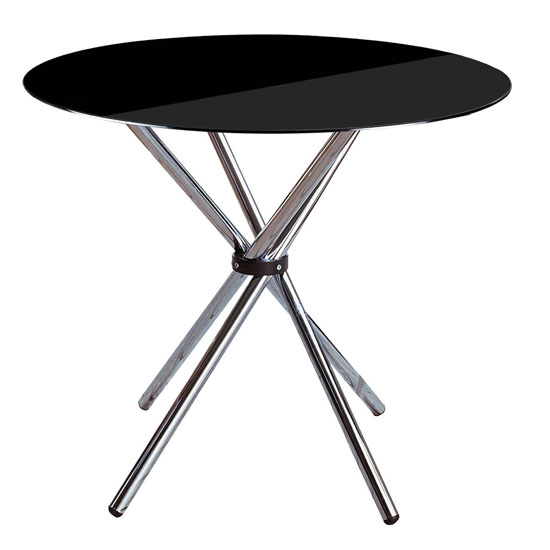 Criss Cross Black Dining Table ,2402770