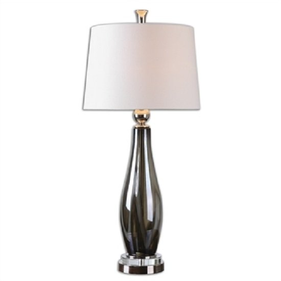 Belinus Table Lamp With Polished Nickel Plated Metal