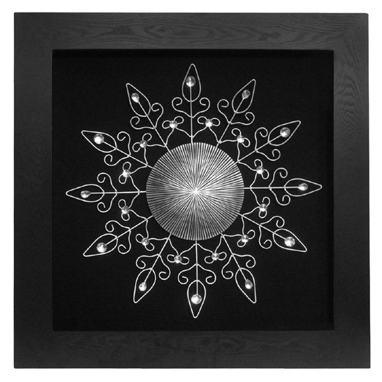Wall Art Silver Frames : Silver design black frame wall art furniture