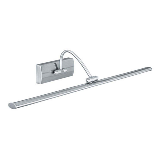 24w LED Picture Wall Light Finished In Satin Silver
