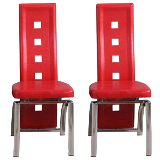 Special Offer 2 Manhattan Design Red Dining Chairs For 110 Dining Room Ch