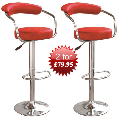 2zenith bar stools red - Find Bar Stools with Legs For maximum Relaxation