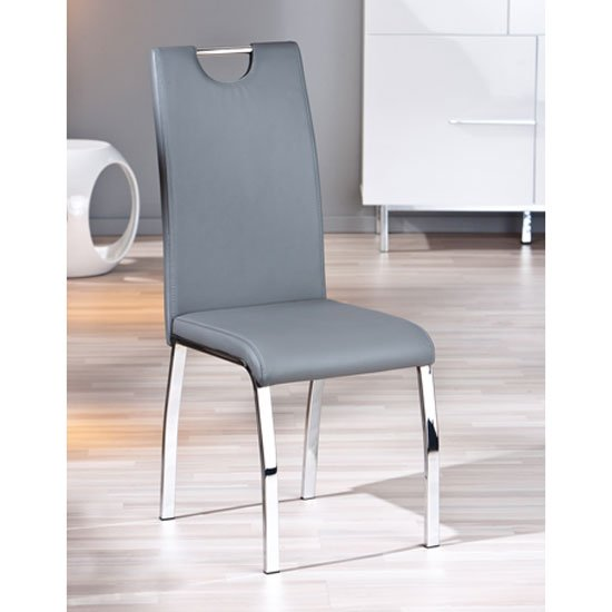 dining room furniture dining chairs canyon dining chair in grey faux