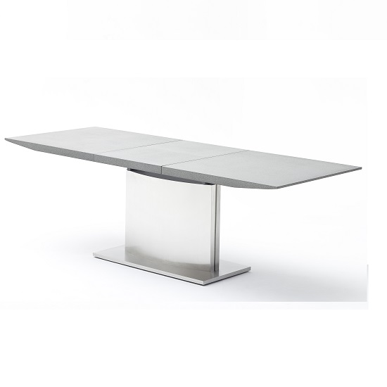 West Extendable Dining Table Stone Effect Top 25452 : 308614extendingstonefinishtable from www.furnitureinfashion.net size 550 x 550 jpeg 37kB