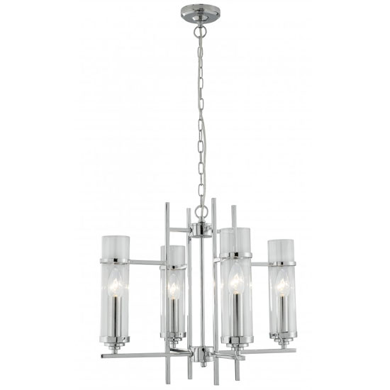 Milo Multi Arm Ceiling Light Finish In Polished Chrome