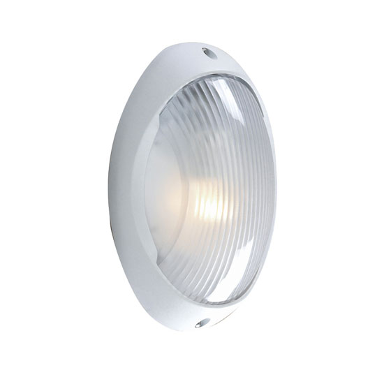 Outdoor Wall Light Cast Aluminium In White
