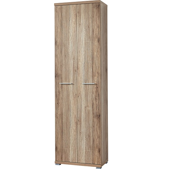 Elina Wardrobe in Sanremo Oak With 2 Doors_1
