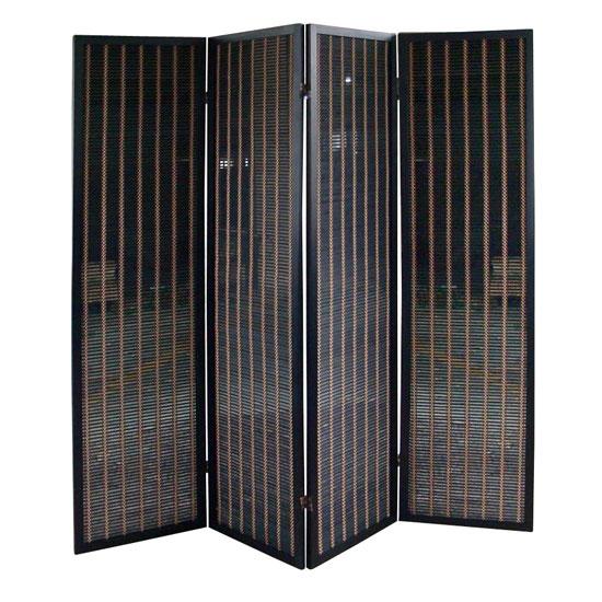 Panel Black Room Divider