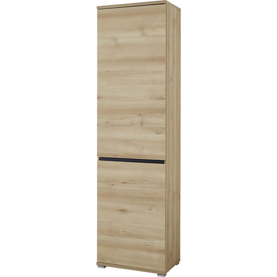 Lissabon Wardrobe In Nobel Beech With 1 Door