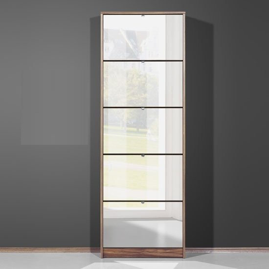 3614 88 tall mirrored shoe cabinet - Organize Your Shoe Storage For Hallways