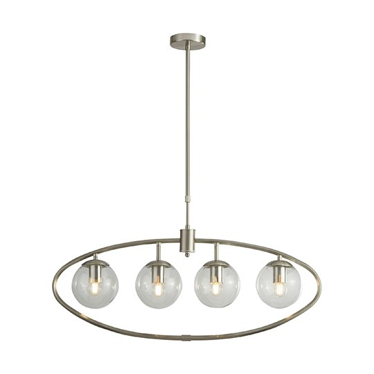 Ceres 4 Lights Pendant Ceiling Light With Glass Balls